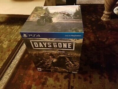 Days Gone Collector's Edition PlayStation 4 new ps4