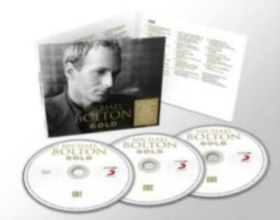 Michael Bolton Gold Sealed 3 Disc CD Set When A Man Loves A Woman Steel Bars