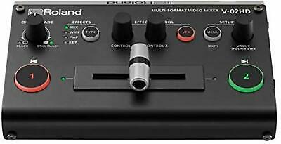 Roland MULTI-FORMAT Video MIXER V-02HD Video Switcher F/S w/Tracking# Japan New