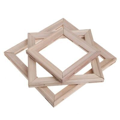 4Pcs/Set Wood Stretcher Strip Bar Frame For Canvas Painting Art Gallery Wrapped