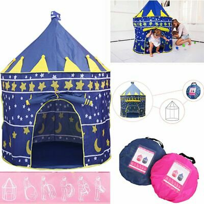 Childrens Kids Baby Up Play Tent Fairy Girls Boys Playhouse Indoor Outdoor