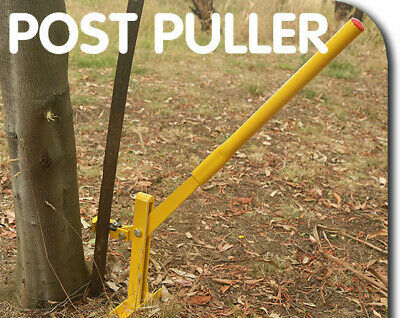 Fence Post Lifter Puller Star Picket Steel Pole Remover Fencing Farming Tool AU