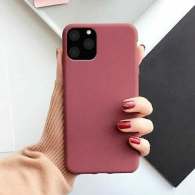 Case for iPhone 11 Pro Max X XS XR 6 7 ShockProof Soft Phone Cover TPU Silicone