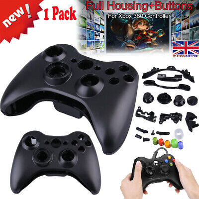 Full Housing Shell Button Case Part Replacement for Xbox360 Controller Wireless_