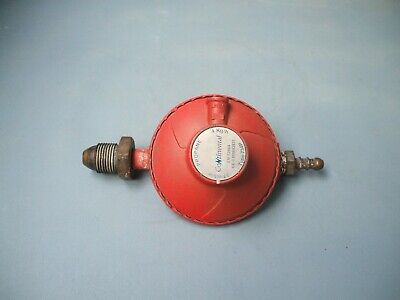 Propane Gas Regulator Continental 37 mbar 4 Kg/h. Used Working Order.