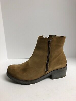 NEW Womens Sz 9.5 SEBAGO Groundswell B48350 Chocolate Suede Boots Shoes