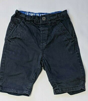 NEXT age 5 yrs boys Navy cargo shorts boys clothing (w158)