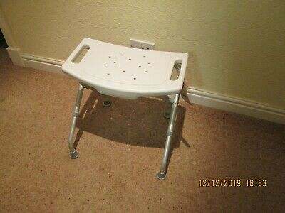 No 22 Disabled Adjustable Height Shower / General Stool / Chair Used