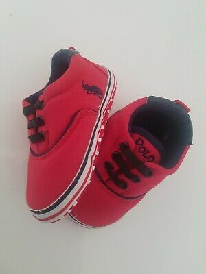 Baby Boy /Girl, POLO Shoes, Infant, Toddler, Trainers... 6 to 12 Months...
