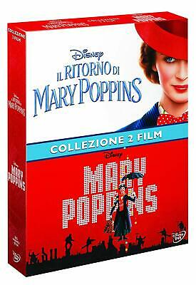Dvd Mary Poppins Collection 1-2 (Box 2 DVD) .......NUOVO