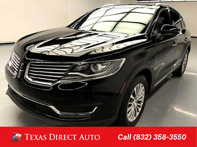 2016 Lincoln MKX Select Texas Direct Auto 2016 Select Used 3.7L V6 24V Automatic FWD SUV