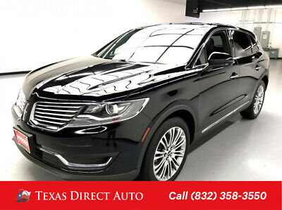 2017 Lincoln MKX Reserve Texas Direct Auto 2017 Reserve Used 3.7L V6 24V Automatic AWD SUV