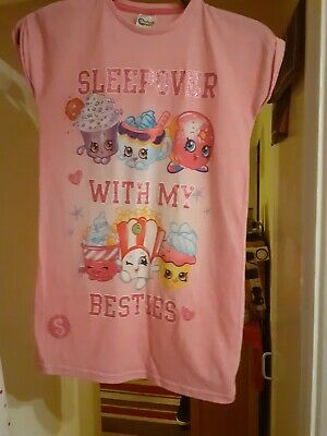 Shopkins Nightdress Girls Aged 8-9 Christmas