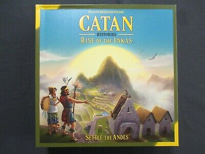 OEJ ~ Catan Histories ~ Rise of the Inkas ~ Board Game