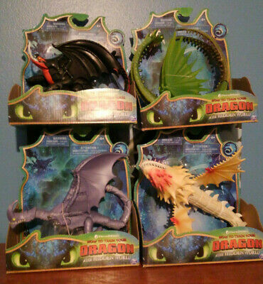 4 How to train your dragon screaming death razor whip barf belch death gripper