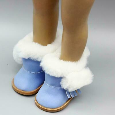 Winter Glitter Doll Shoes For 18 Inch Doll Accessory Toy Girl W5D6
