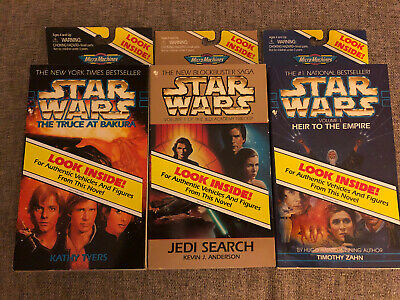 Star Wars Micro Machines Heir to the Empire-Jedi Search-Truce At Bakura Set Of 3