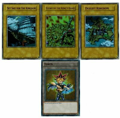 All/_Ultra  4-Cards Duelist Kingdom Glory of the King/'s Hand Set Sail YGLD Yugioh