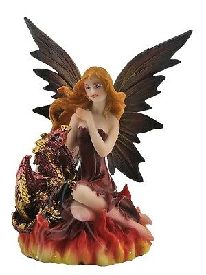 Fire Fairy with Dragon - RRP $25.95