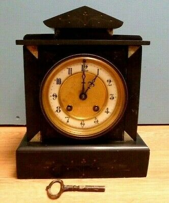 Antique Marble Mantle Clock for Spares/Repair - Possibly French?