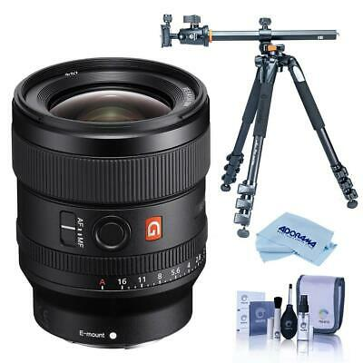 Sony FE 24mm F/1.4 GM (G Master) E Mount Lens W/Vanguard Alta Pro 264AT Tripod