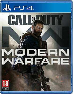 Call of Duty Modern Warfare Sony PS4 (UK NEW & SEALED) Military Combat Shooter