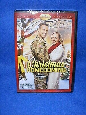 Hallmark Movie ~CHRISTMAS HOMECOMING~ Holiday Collection DVD - NEW Sealed!
