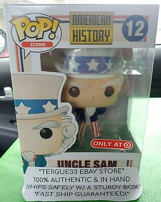 Funko Pop Uncle Sam Target Exclusive American History Icons Vinyl Figure In Hand