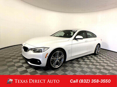 2017 BMW 4-Series 440i Texas Direct Auto 2017 440i Used Turbo 3L I6 24V Automatic RWD Hatchback Premium