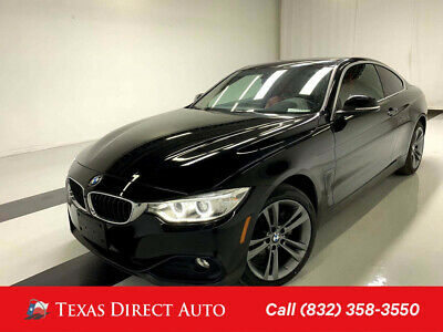 2017 BMW 4-Series 430i xDrive Texas Direct Auto 2017 430i xDrive Used Turbo 2L I4 16V Automatic AWD Coupe