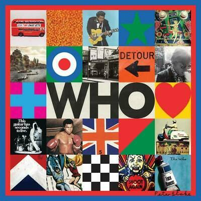 The Who - WHO (CD - 2019)  BRAND NEW STUDIO ALBUM - UNOPENED - FREE SHIPPING