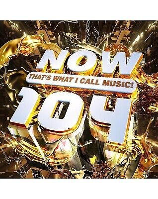 NOW THAT'S WHAT I CALL MUSIC 104 2 CD (NOW 104) VARIOUS 2019 New