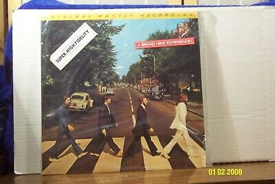 "THE BEATLES LP ""Abbey Road"" MOBILE FIDELITY RECORDS ""Audiophile"" in Shrink NM"