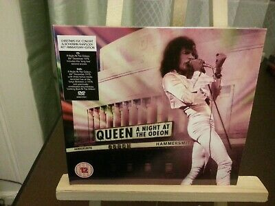 Queen - A Night At The Odeon (CD & DVD SET) NEW AND SEALED