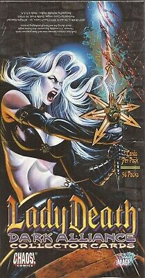 Lady Death Dark Alliance - Factory Sealed 36 Pack Box