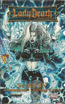 Lady Death IV Wicked Ways - 1997 Krome Factory Sealed 36 Pack Box