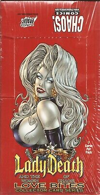 Lady Death Women of Chaos Love Bites Factory Sealed Box