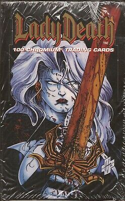 Lady Death 1 -  Krome 1994 Factory Sealed Box