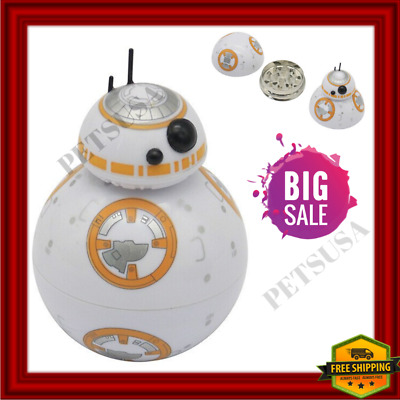 STAR WARS SPACE OPERA BB-8 Three Layers Figure Herb Spice Herb Crusher Grinder