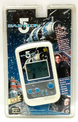 Vintage Babylon 5 Electronic LCD Video Game- Mint on Card (M-7631)