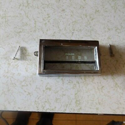 1969 1970 1971 Ford Torino Cyclone Ranchero Fairlane AM Radio Face Plate Bezel