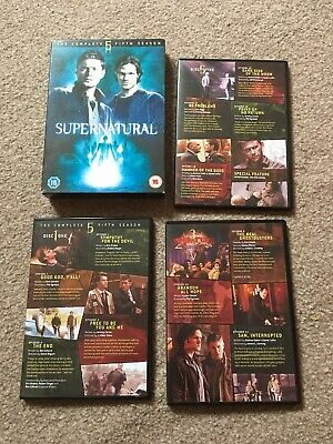 Supernatural - Series 5 - Complete (DVD, 2010) box set