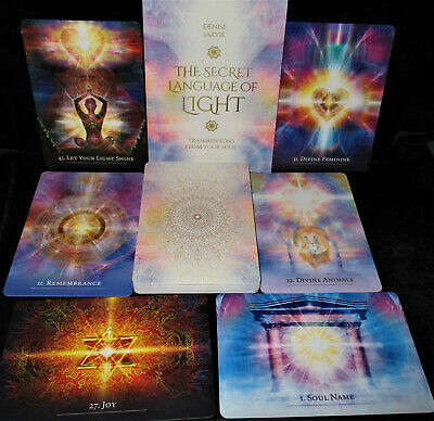 New Open For Pics ~ Secret Language Of Light Cards & Book Oracle From Your Soul