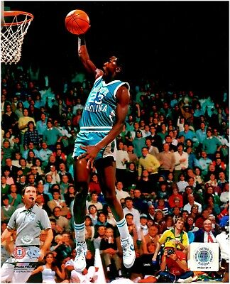 Michael Jordan North Carolina Tar Heels LICENSED 8x10 Basketball Photo