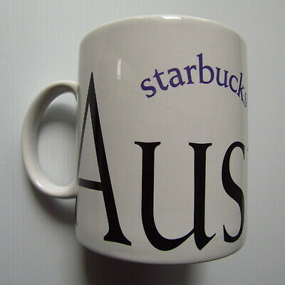 Starbucks Coffee City Mug Australia Collectable Large Collector Series