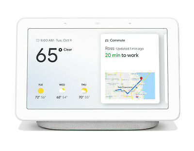 Google Home Hub with Google Assistant Chalk GA00516-US NEW IN BOX!!!