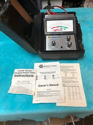 NAPA N612 Battery Tester With Case