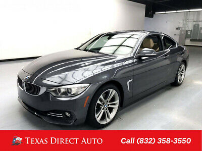 2017 BMW 4-Series 430i Texas Direct Auto 2017 430i Used Turbo 2L I4 16V Automatic RWD Coupe Premium