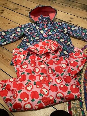 Next & Hello Kitty Raincoat Bundle Size 3-4 Blue Red Pink