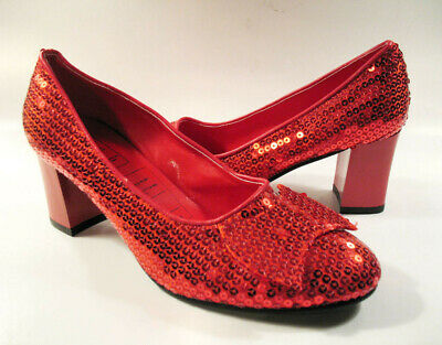 Rubies Wizard of Oz Dorothy Red Ruby Slippers Size 11 NEW/UNWORN Costume